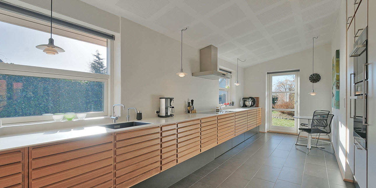Bright, welcoming kitchen from uno form
