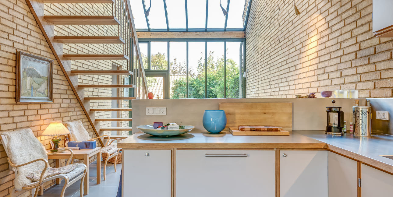 Harmonic renovation with respect for the original architecture