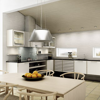 White kitchen from uno form