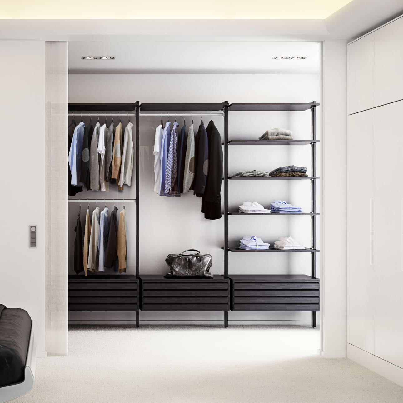 Wardrobes Walk In Closets And Lovely Wardrobes