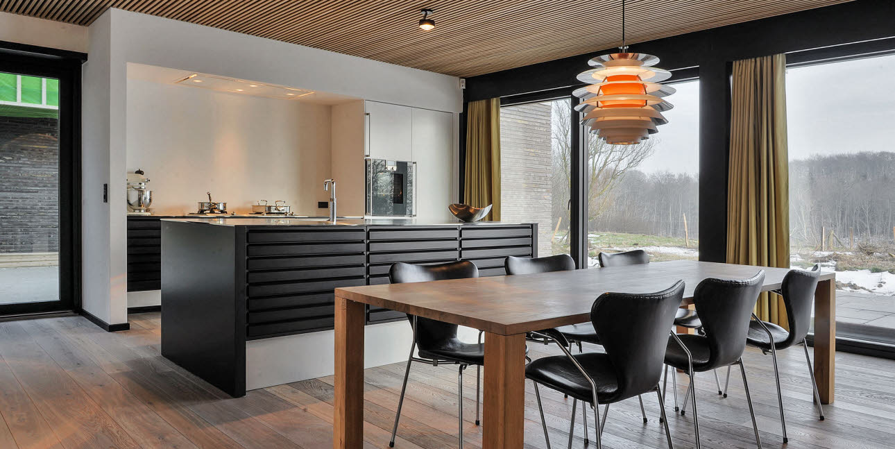 Exclusive Scandinavian '60's style kitchen | Case story