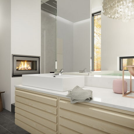 Elegant ash bathroom | uno form