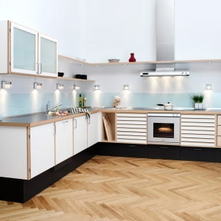 Unique, craftsman quality kitchen from uno form