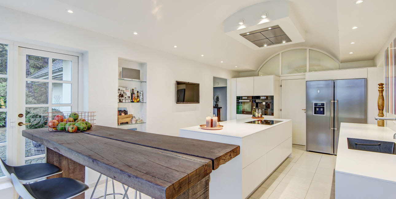 Kitchen in country property