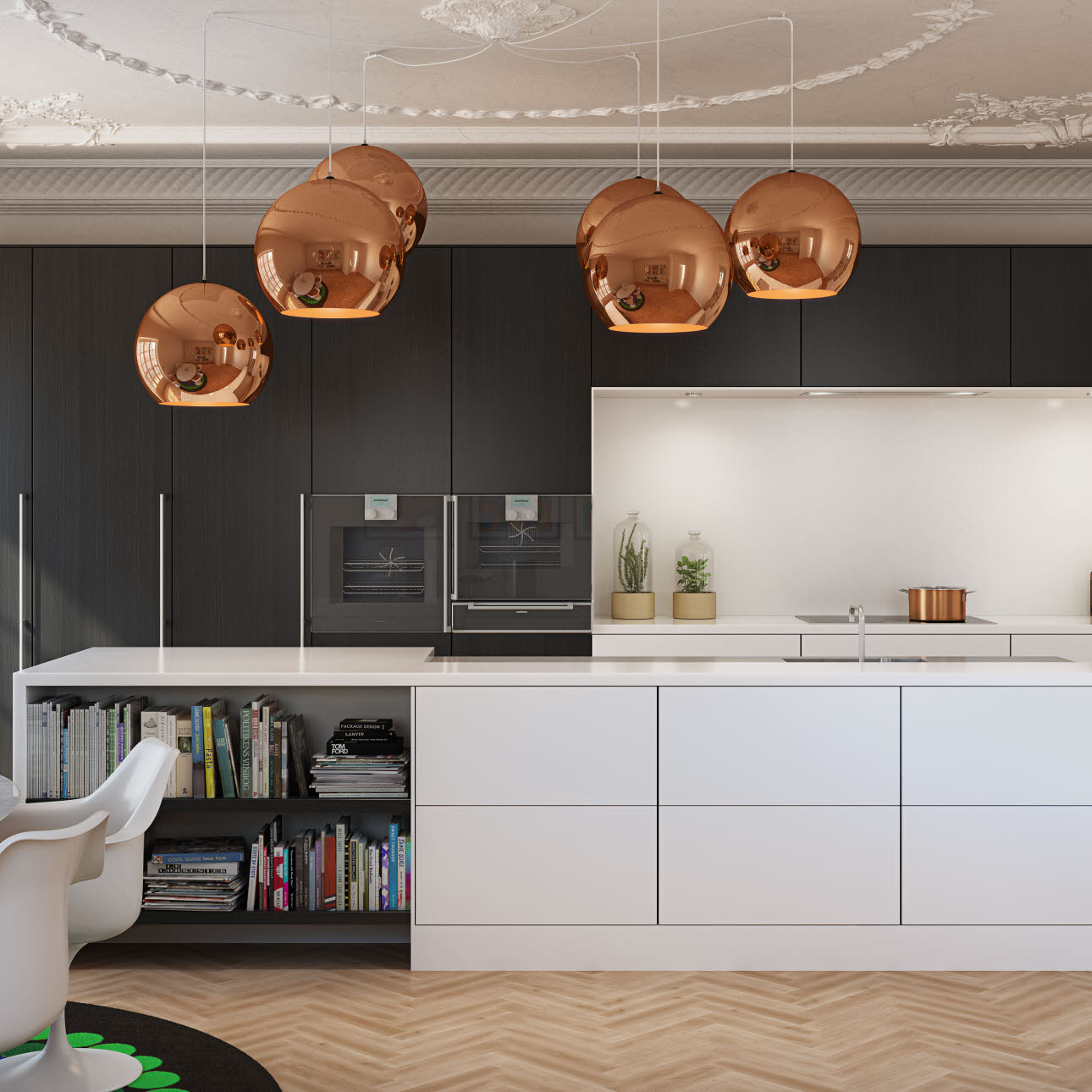Beautiful kitchen from uno form