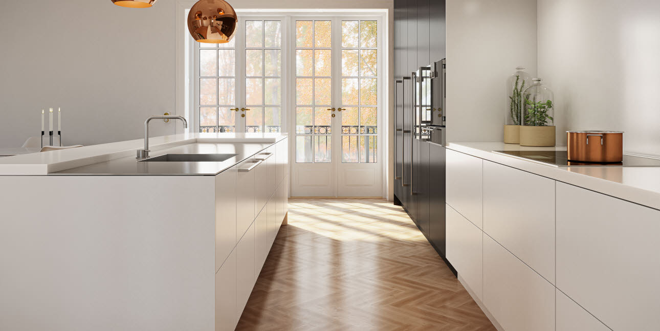 uno form kitchen in a beautiful design
